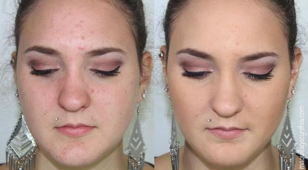 Maquillage peaux grasses / acnéiques