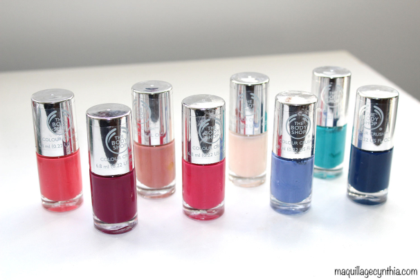 Coup de coeur : Les vernis à ongles The Body Shop