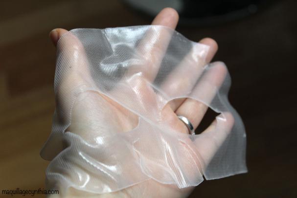 Masque Hydro Gel pour le visage