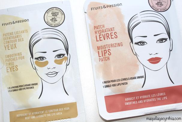 Patchs yeux & lèvres