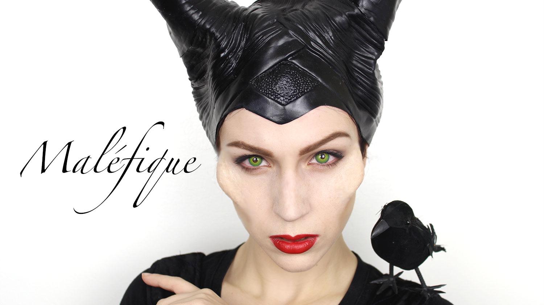 Maquillage d 39 halloween mal fique maquillage cynthia - Maquillage de sorciere facile a faire ...
