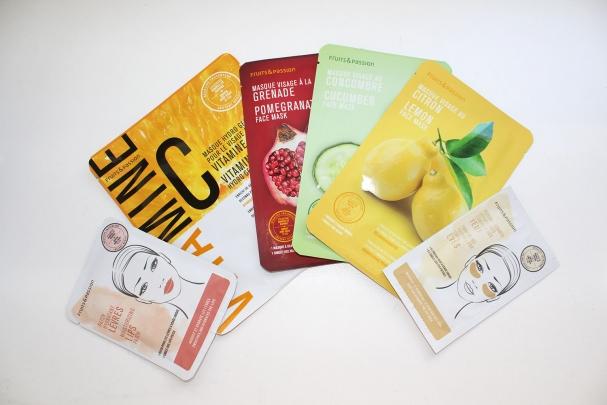 Nouveaux masques jetables de Fruits & Passion