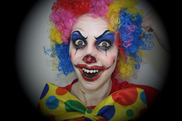 Maquillage Clown Diabolique