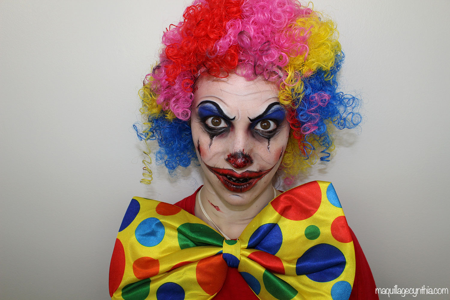 maquillage clown facile