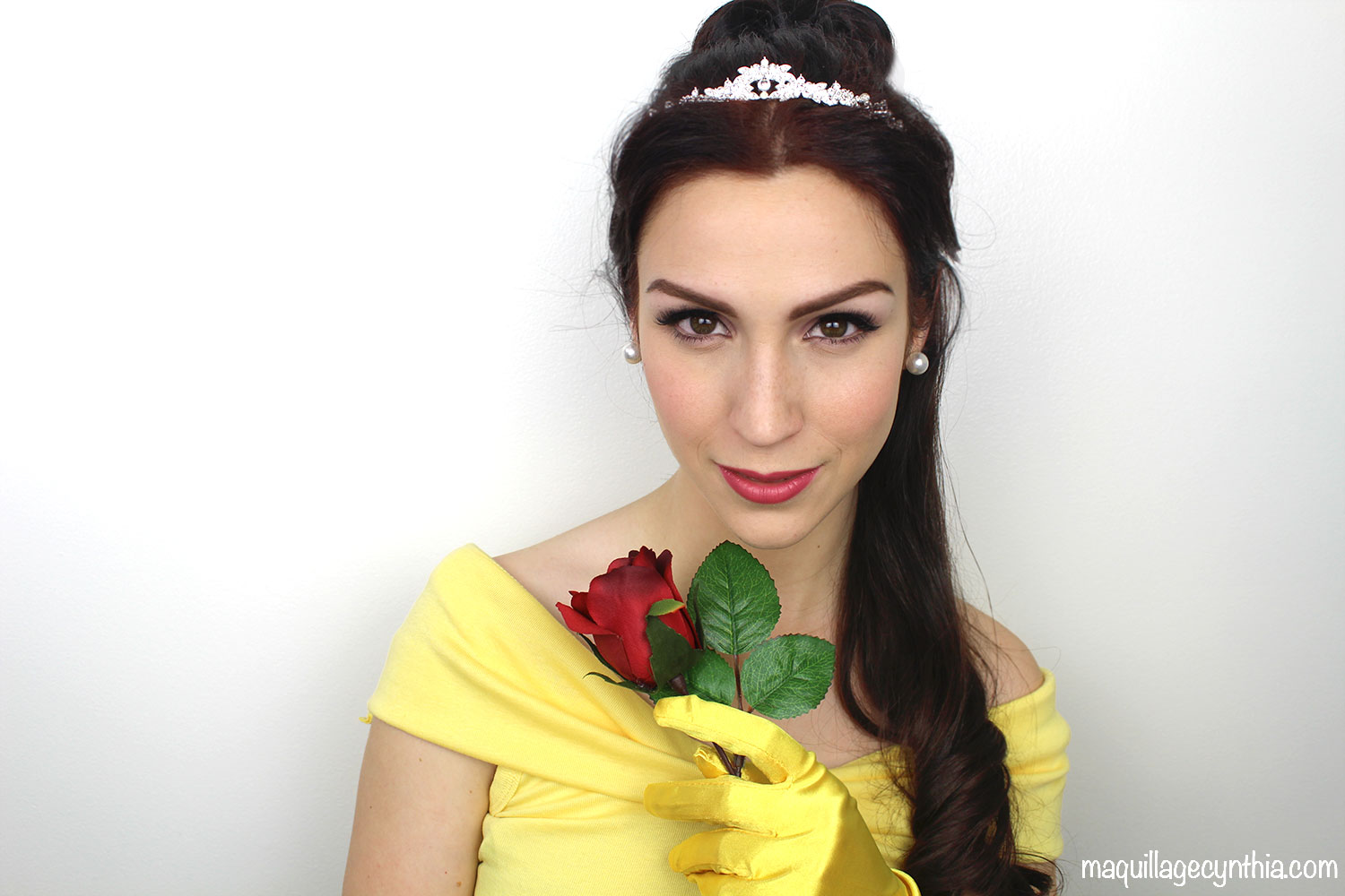 Maquillage d\u0027Halloween  Belle (Disney)