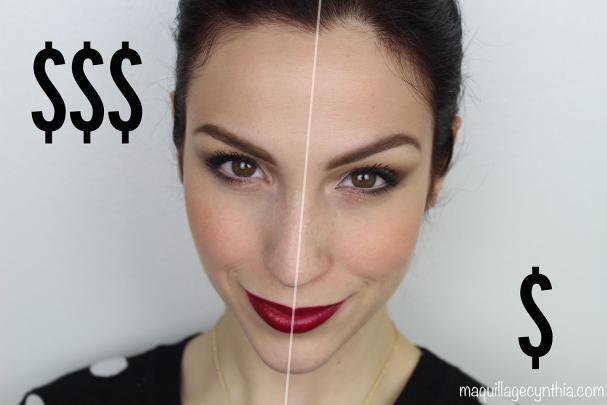 1 maquillage, 2 prix