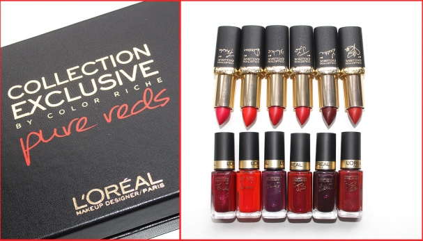 Collection Pure Reds de L'Oréal
