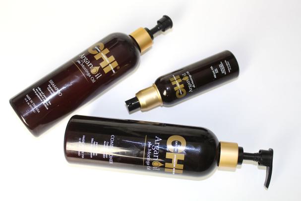 Produits capillaires CHI à Huile d'Argan