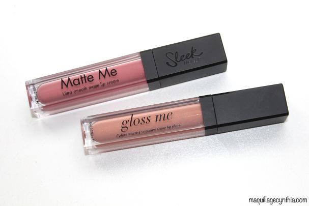 Gloss Me et Matte Me