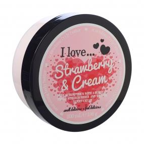 Beurre corporel Fraises & Crème I Love