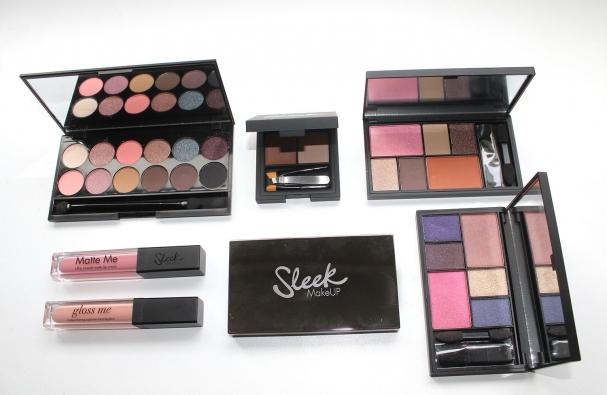 Nouvelles palettes de Sleek MakeUp (et +) !