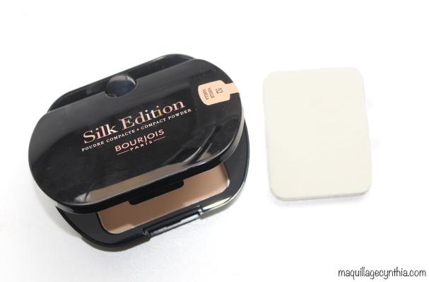 Poudre compacte Silk Edition Bourjois