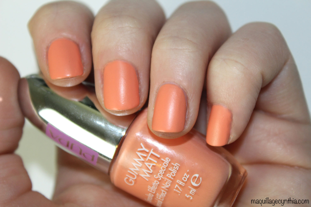 Sporty Chic Gummy Matt Nail Polish