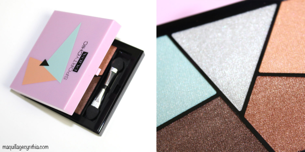 Sporty Chic Graphic Eyeshadow palette
