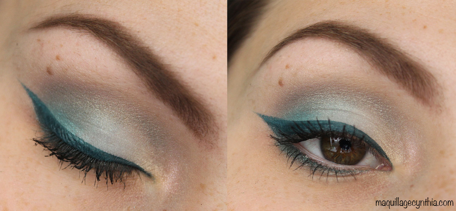 maquillage yeux verts lise watier
