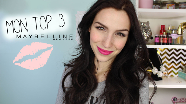Mon Top 3 - Maybelline + Concours