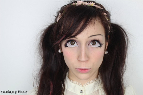 Maquillage Look Manga / Anime