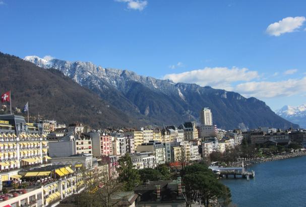Paysage Montreux