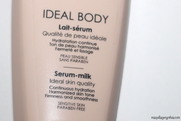 Lait-sérum Ideal Body de Vichy