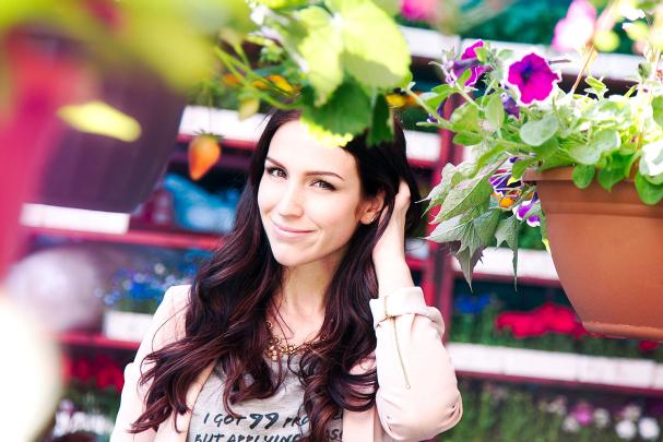Look 5 - Le temps des fleurs
