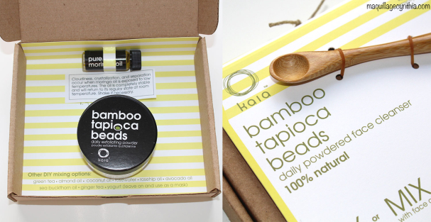 Poudre Exfoliante Quotidienne Bambou Tapioca Beads