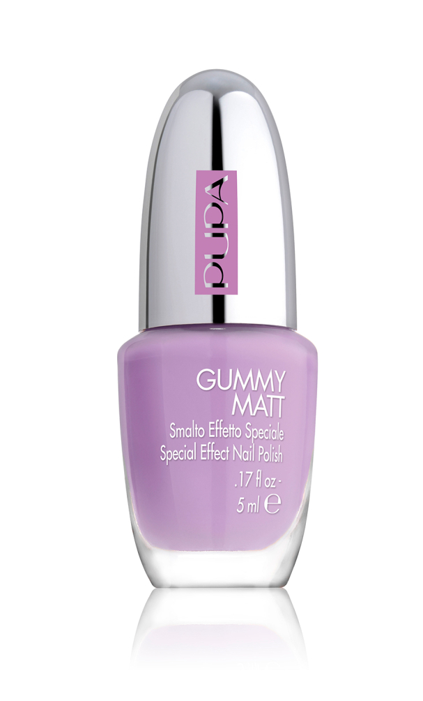 Gummy Matt Nail Polish