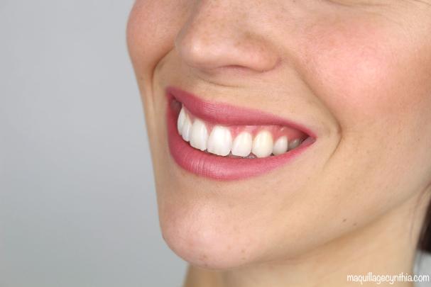 Maquillage bouche de mariée