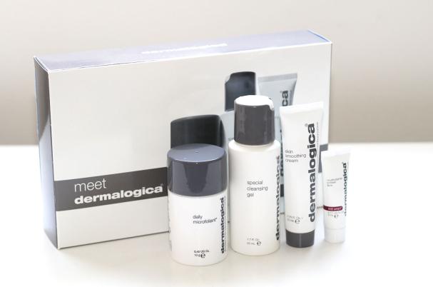 Premier test avec les produits Dermalogica