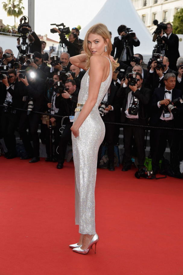 Maquillage de star : Karlie Kloss - Cannes 2015