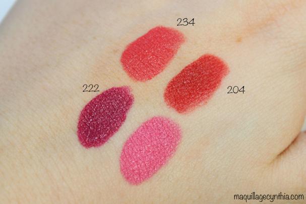 Rouges à lèvres Le Marc Lip Crème