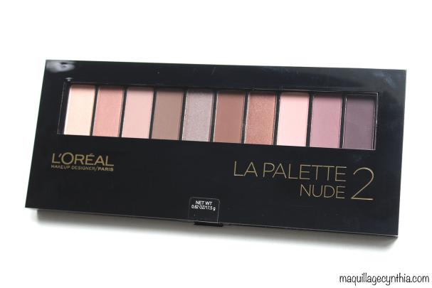 La Palette Nude 2 de L'Oréal