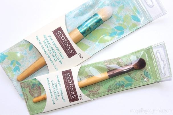 Pinceaux Eco Tools : mon avis !