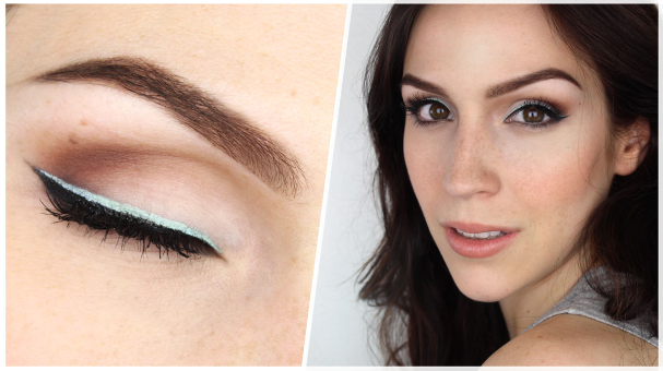 Tutoriel Maquillage Choco Menthe