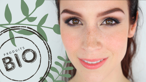 Tutoriel maquillage naturel bio