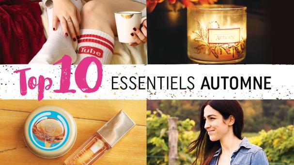 10 essentiels - AUTOMNE 2015
