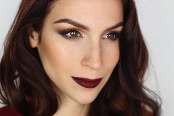 Tutoriel maquillage d'automne vamp