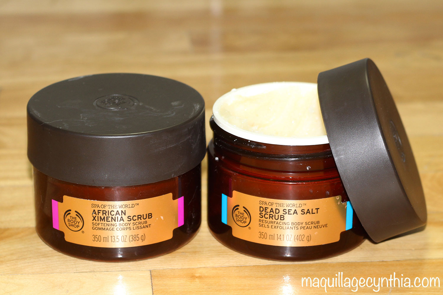 body shop gommage corps
