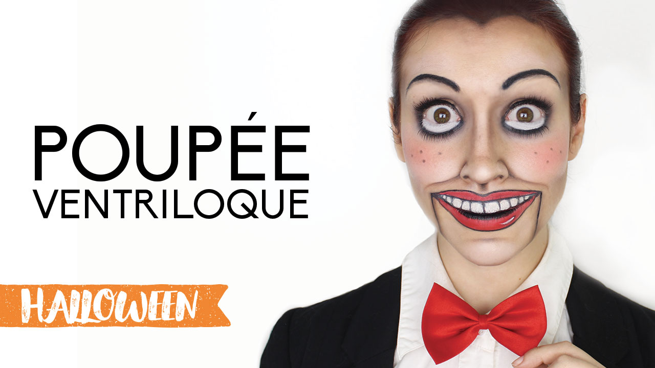 Maquillage dHalloween  Poupée ventriloque  Maquillage