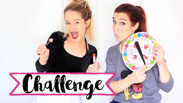 TWISTER MAKEUP CHALLENGE avec Emma Verdé !