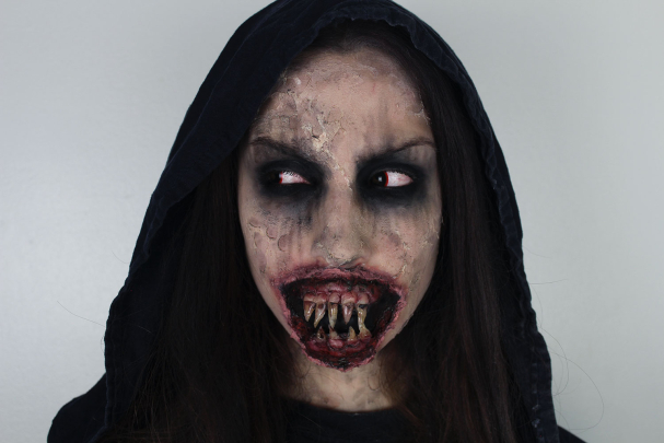 Maquillage d'Halloween : Démon