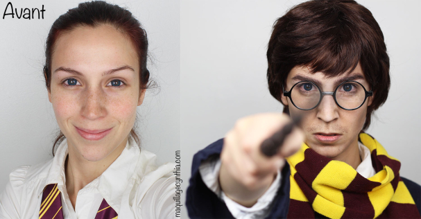 Maquillage Harry Potter pour Halloween