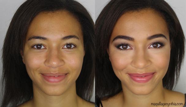 Maquillage pour peau mate