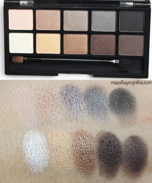 Palette Smokey Nudes - Annabelle
