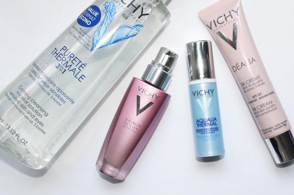 Nouveaux soins pour les peaux sensibles de Vichy