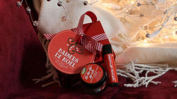 7. 1 kit Baisers de Noël de LUSH
