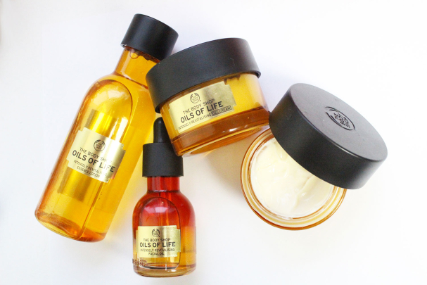 Mon avis sur la gamme Oils of Life - The Body Shop
