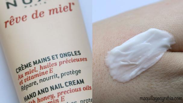 Crème pour les mains et ongles Rêve de Miel