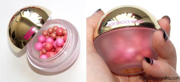 Dot Shock Blush - Fard à joues Perles Précieuses Multicolores