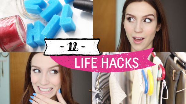 12 LIFE HACKS : Beauté, mode, etc