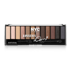 Palette Lovatics Demi Lovato New York Colors